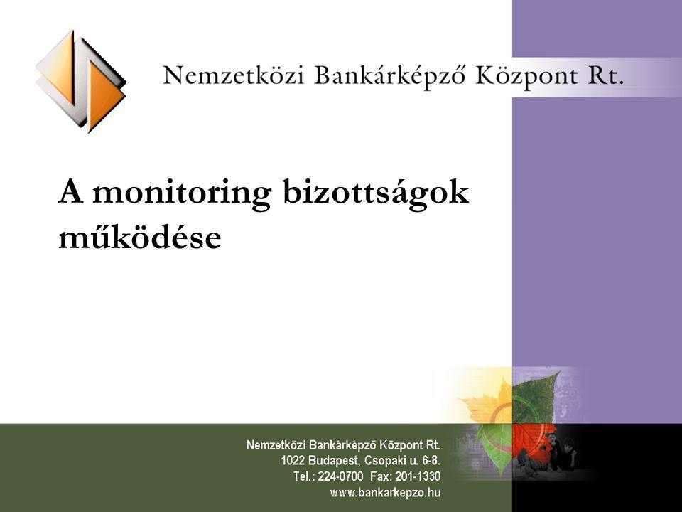 Az 1994-1999-es ír KTK monitoring adatáramlási folyamata (1.) Az al-intézkedések (műveletek) szintjén kialakításra kerülnek a pályázati nyomtatványok, amelyek tükrözik az al-intézkedés céljait, a finanszírozás jellegét és forrását, a végső kedvezményezett szintjén elvárt eredményeket és jelentési kötelezettségeket.