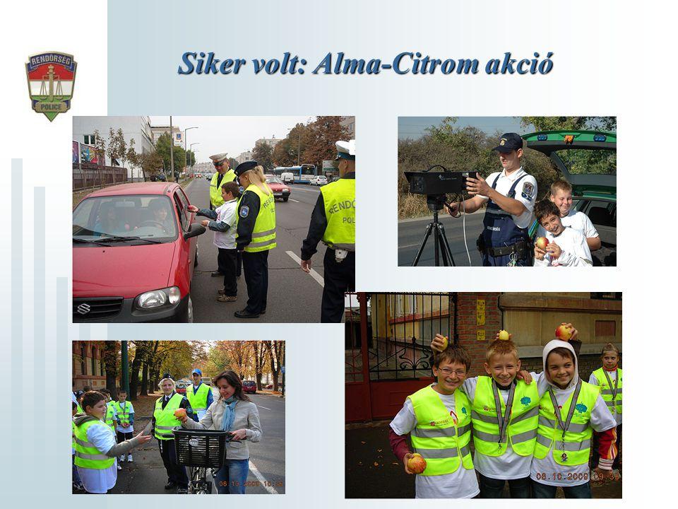 Siker volt: Alma-Citrom akció