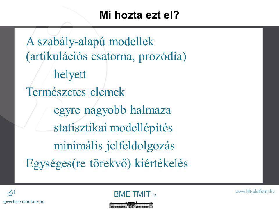 BME TMIT 11 speechlab.tmit.bme.hu AT&T 2011 (US English) AT&T 2011 (German) Nuance (Loquendo) 2011 (US English) Nuance (Loquendo) 2011 (German) Kempelentől napjainkig