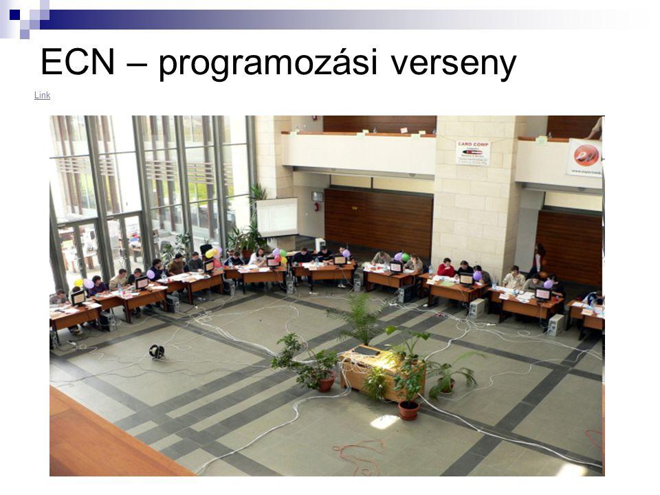ECN – programozási verseny Link