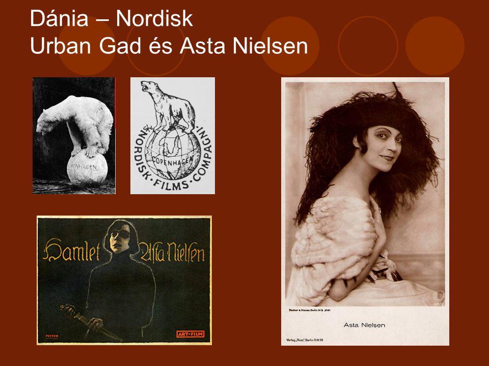 Dánia – Nordisk Urban Gad és Asta Nielsen