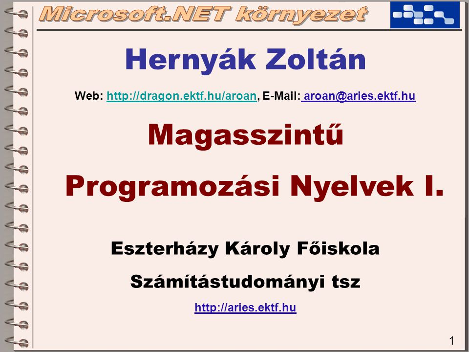 12 ASP.NET, WEB FORMS, MOBILE INTERNET TOOLKIT  HTML alapú, böngészőn keresztül futtatható felhasználói felülettel rendelkező Web alkalmazások fejlesztésének lehetősége  COOKIE és SESSION kezelése  Mobil telefonokon is olvasható és használható tartalmat állít elő