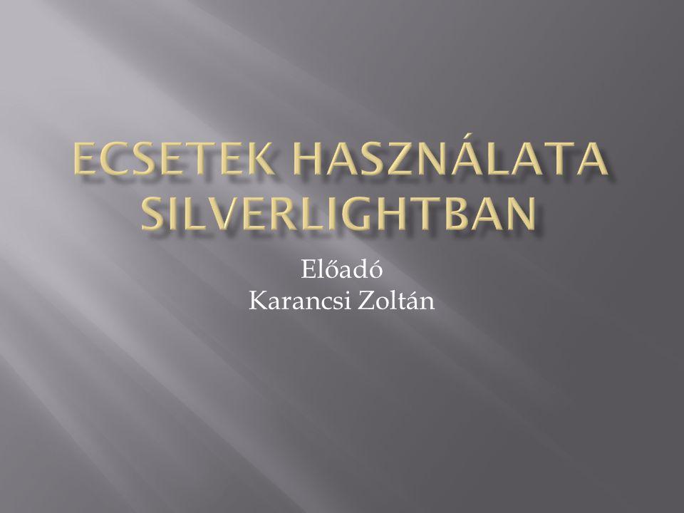 Előadó Karancsi Zoltán