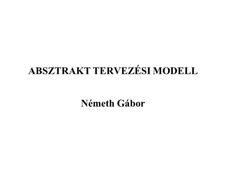 ABSZTRAKT TERVEZÉSI MODELL Németh Gábor