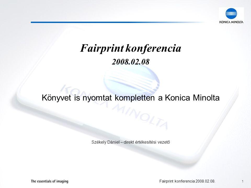 2 Fairprint konferencia 2008.02.08.