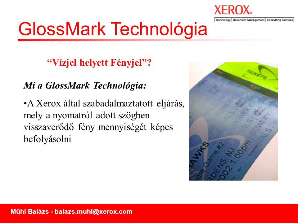 GlossMark Technológia Hogyan működik?