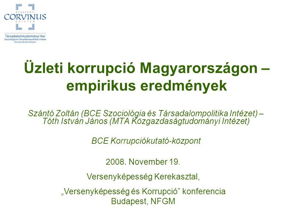 Dilemmák és szükséges további kutatási irányok www.uni-corvinus.hu