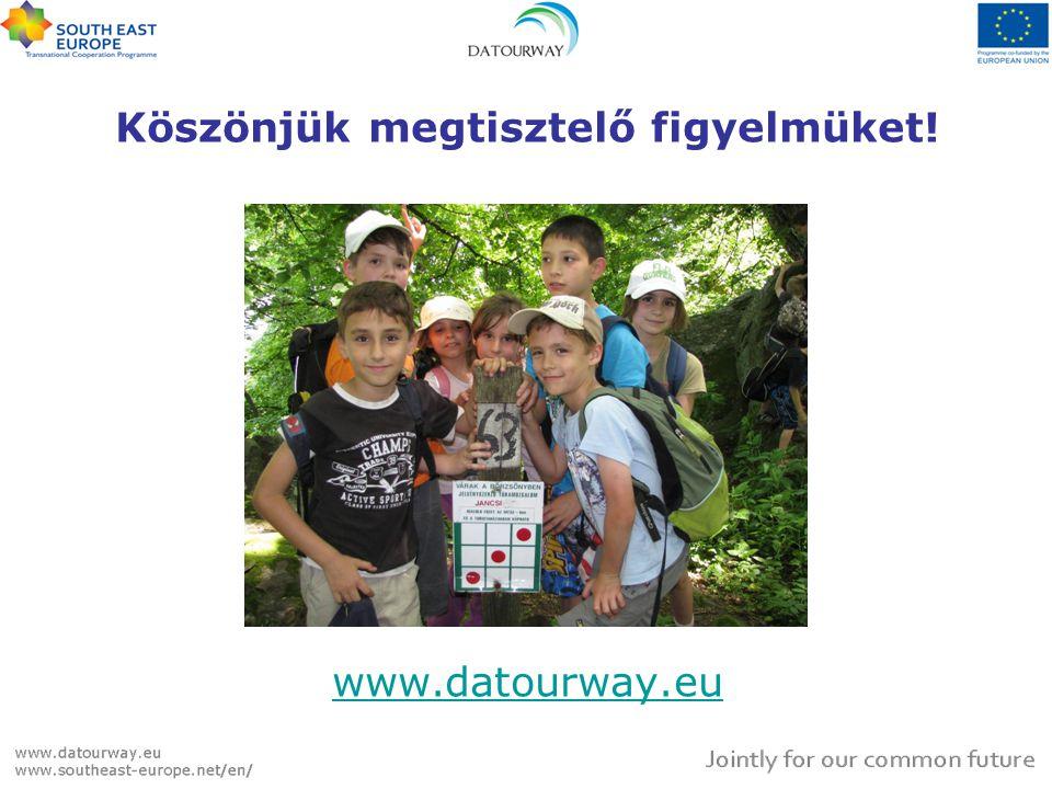 Köszönjük megtisztelő figyelmüket! www.datourway.eu www.datourway.eu