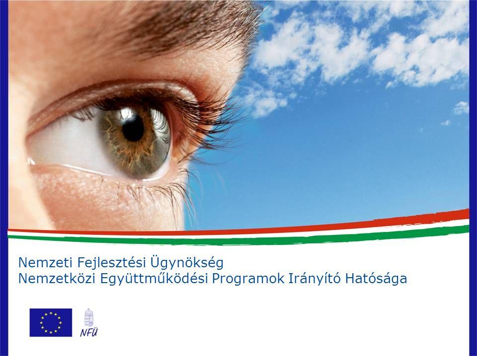 Nemzeti Fejlesztési Ügynökség Nemzetközi Együttműködési Programok Irányító Hatósága