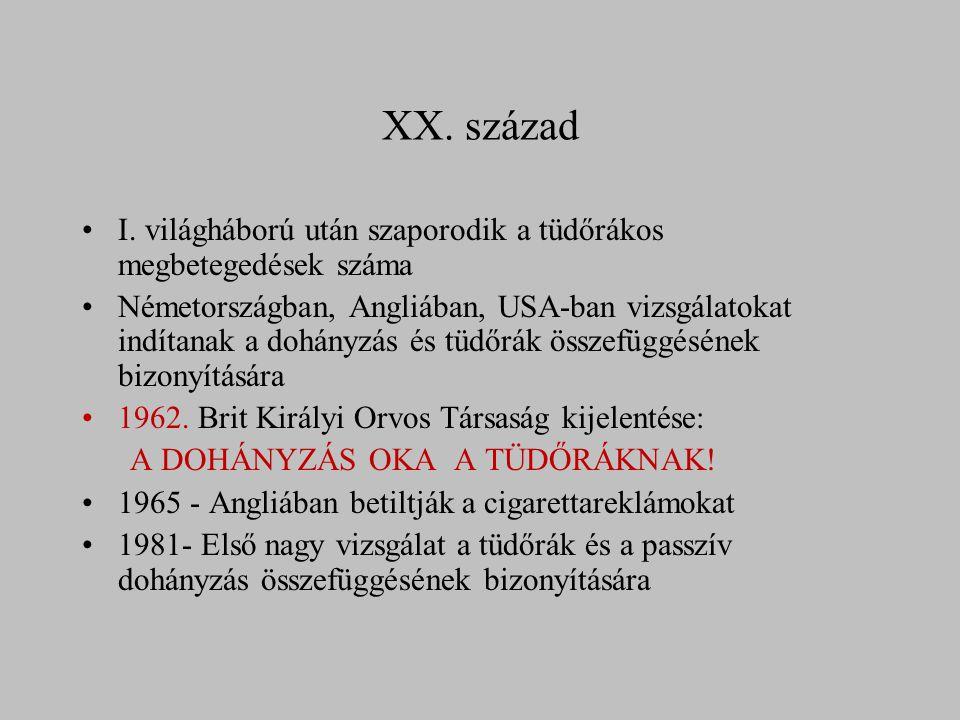 XX. század I.