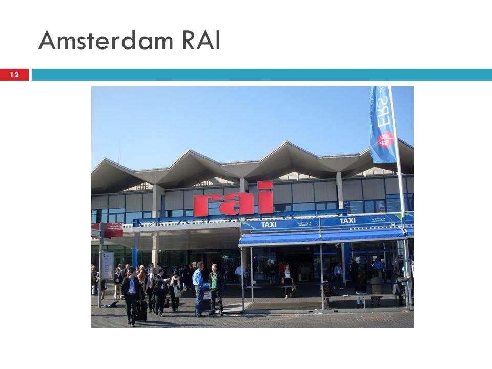 Amsterdam RAI 12