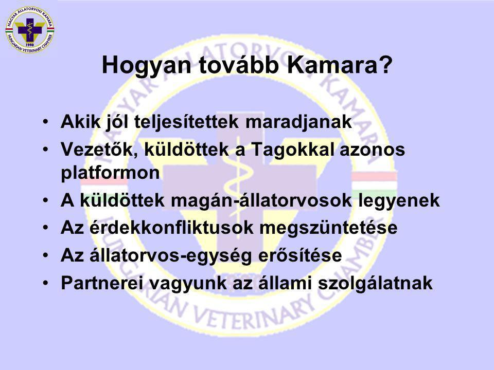 Hogyan tovább Kamara.