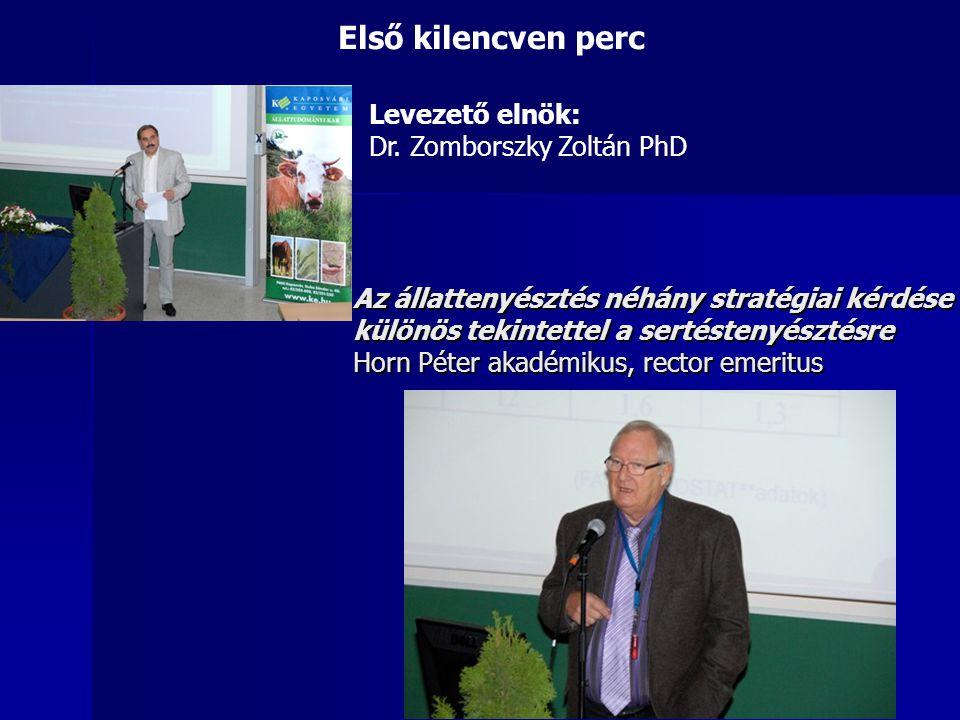 Sertéságazat fejlesztése a Dél-Dunántúlon, a Dél-Dunántúli Regionális Sertésprogram (DRSP) Dr.
