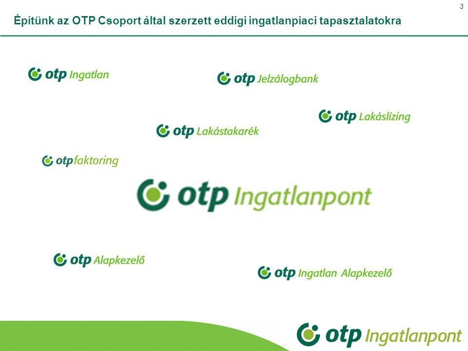 Építünk az OTP Csoport által szerzett eddigi ingatlanpiaci tapasztalatokra 3