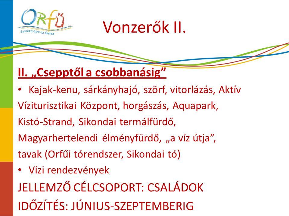 Vonzerők II. II.