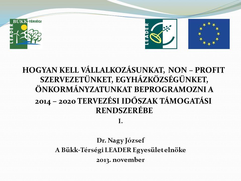 │ 22 K özlekedés, szállítás Kutatás, innováció Képzés Régiók közötti együttműködés KKV-k támogatása Energia-hatékonyság Megújuló energia források
