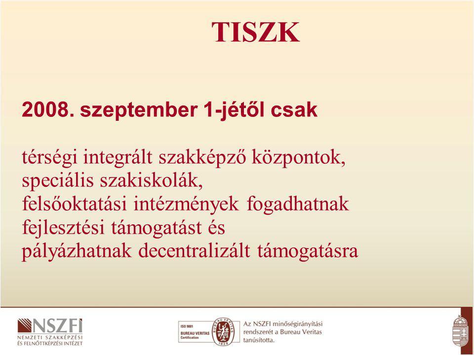 TISZK 2008.