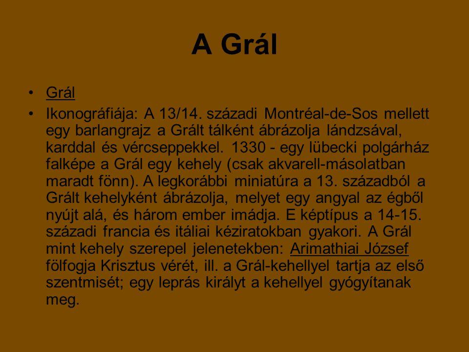 Grál Ikonográfiája: A 13/14.