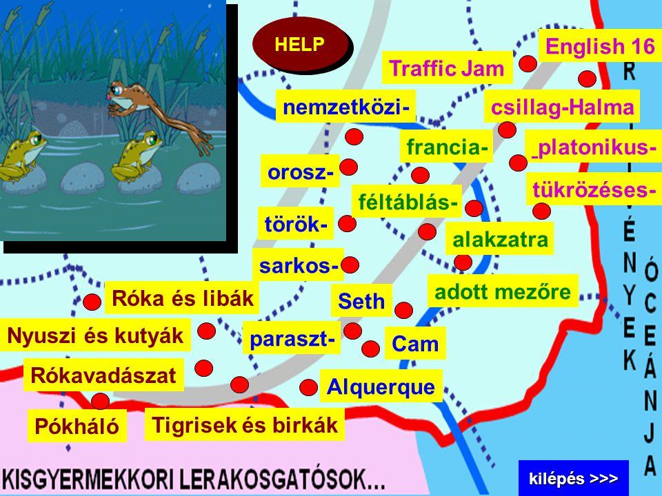 Nyuszi és kutyák Róka és libák Tigrisek és birkák Pókháló Rókavadászat nemzetközi- orosz- török- sarkos- Seth paraszt- Alquerque francia- féltáblás- a