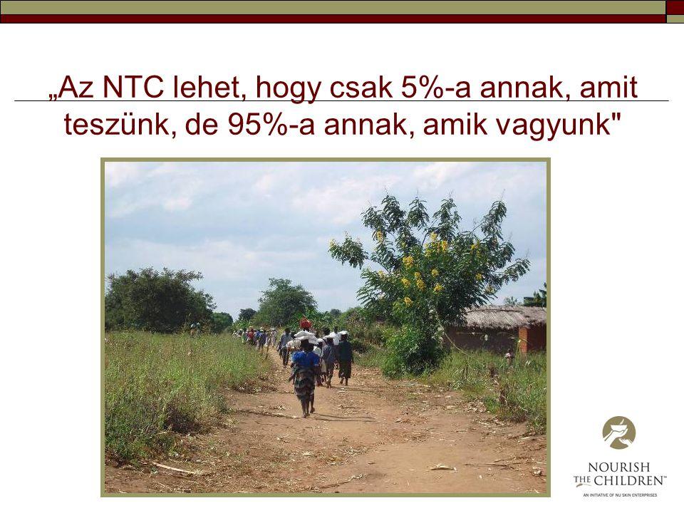 """""""Az NTC lehet, hogy csak 5%-a annak, amit teszünk, de 95%-a annak, amik vagyunk"""