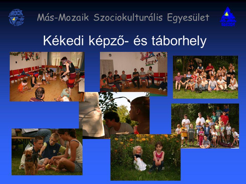 Más-Mozaik Szociokulturális Egyesület Kékedi képző- és táborhely