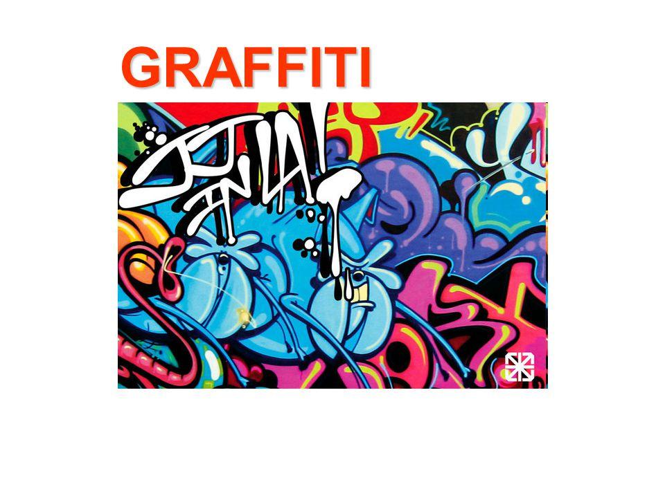 A graffiti - (görög eredetű, de Amerikából származó fogalom, melynek eredeti jelentése: feliratok) legjellemzőbb előfordulási helye a köztereken lévő falfelület.