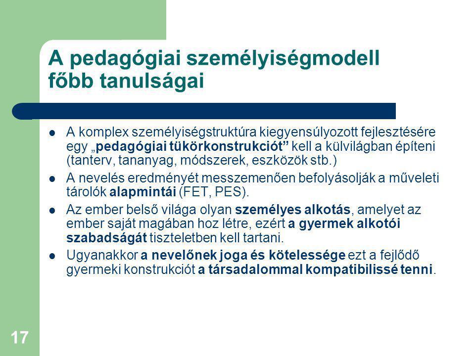 """18 A korszerű szociomorális fejlesztés alapvető céljai, problémái A neveléstudomány mai álláspontja – Szociálisan életképes, konstruktív életvezetésű és felelős döntéseket hozni- és vállalni tudó ember nevelése a legfőbb cél Az Európai Unió ajánlásai – """"Moralitás és szociális életképesség egysége jellemezze az új európai emberideált (Bábosik, 2004) A megvalósítás problémái – Plurális világban élünk, a különböző pedagógiai irányzatok, politikai szándékok kompatibilitási problémákat okoznak."""