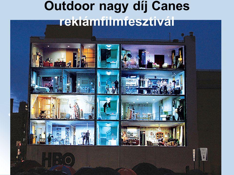 Outdoor nagy díj Canes reklámfilmfesztivál