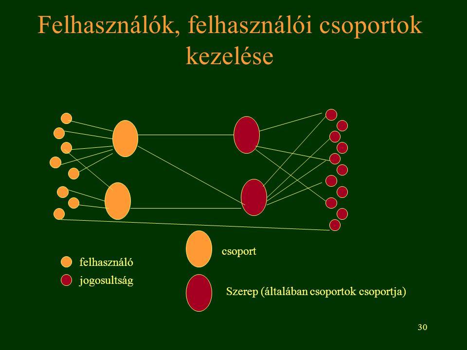 31 Nyílt (nyilvános) hálózatok Olyan hálózat amire bárki felcsatlakozhat ha adott hardverfeltételeknek eleget tesz és vállalja a szerződésben leírtakat.
