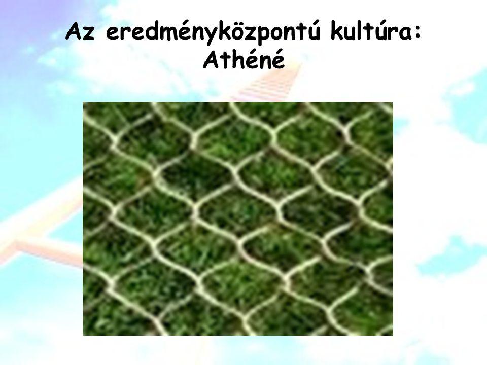 Az eredményközpontú kultúra: Athéné