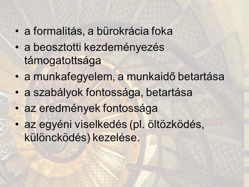 """1.5 Négy isten a menedzsmentben A """"Klub kultúra: Zeusz"""