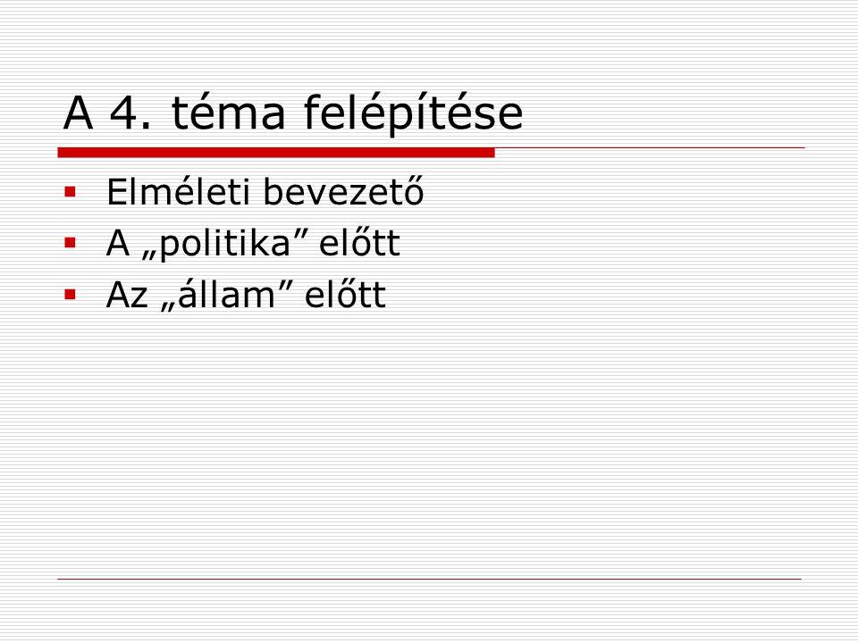 Az állam előtt: a rendiség első megjelenése Magyarországon  A 13.