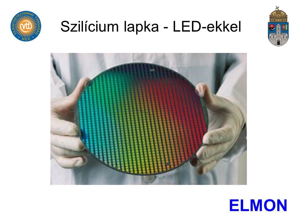 Szilícium lapka - LED-ekkel ELMON