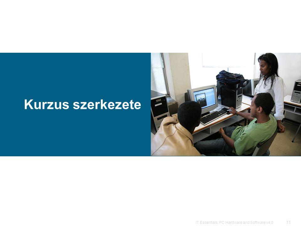 11 IT Essentials: PC Hardware and Software v4.0 Kurzus szerkezete