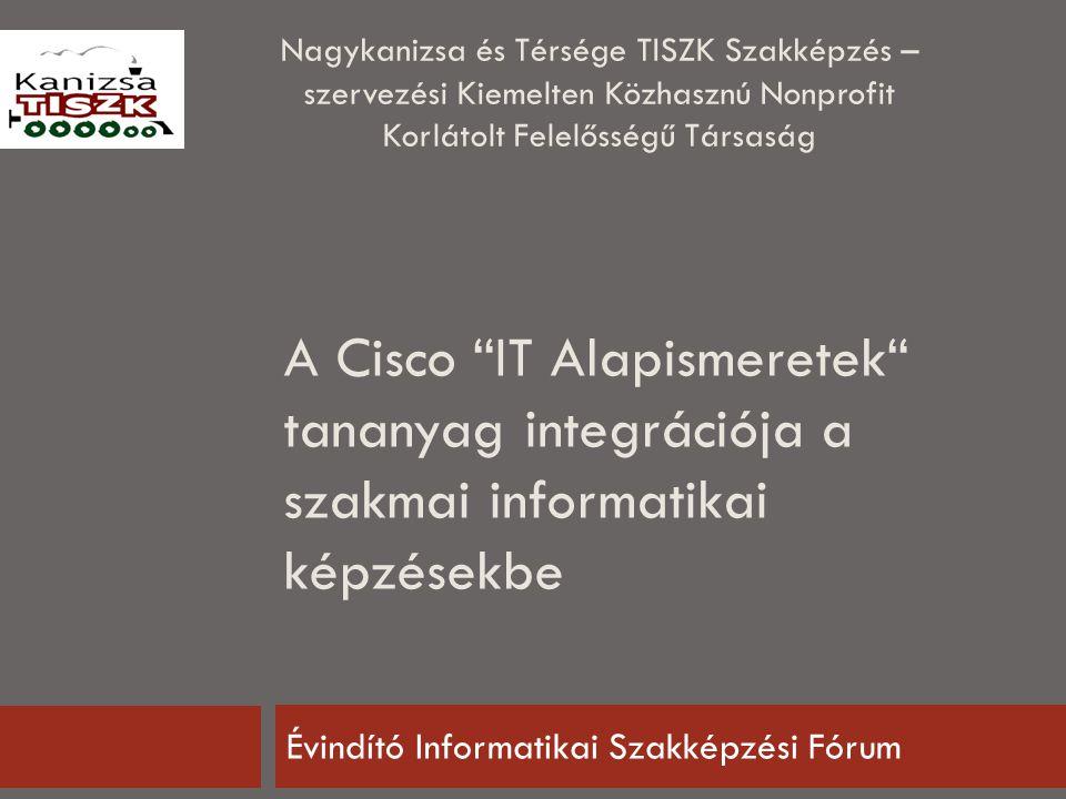 Kanizsa TISZK - A L A P Í T Ó K 2014.09. 16.