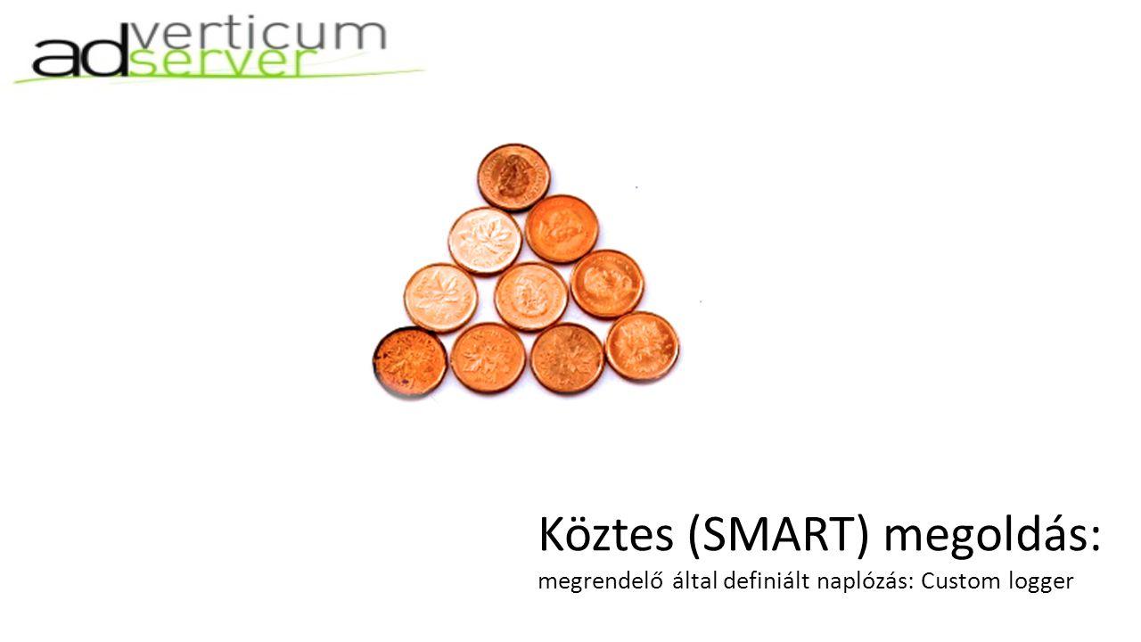 Köztes (SMART) megoldás: megrendelő által definiált naplózás: Custom logger