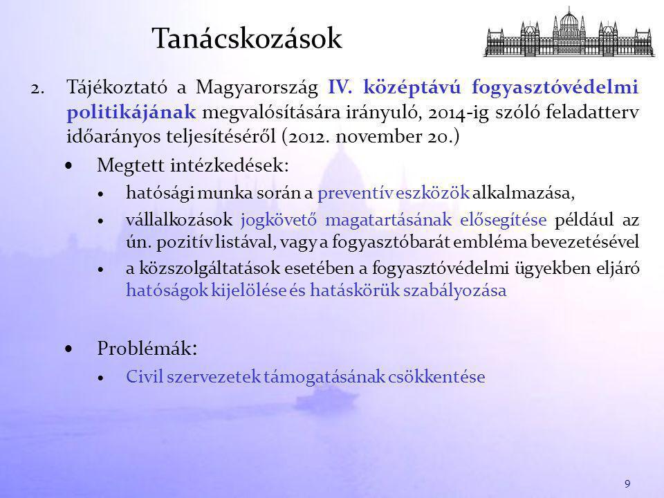 2. Tájékoztató a Magyarország IV.
