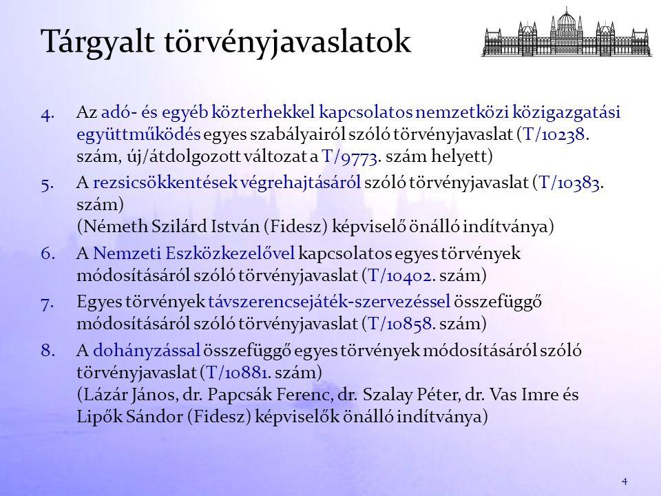 1.A Fogyasztóvédelmi bizottság 13/2010-2014.