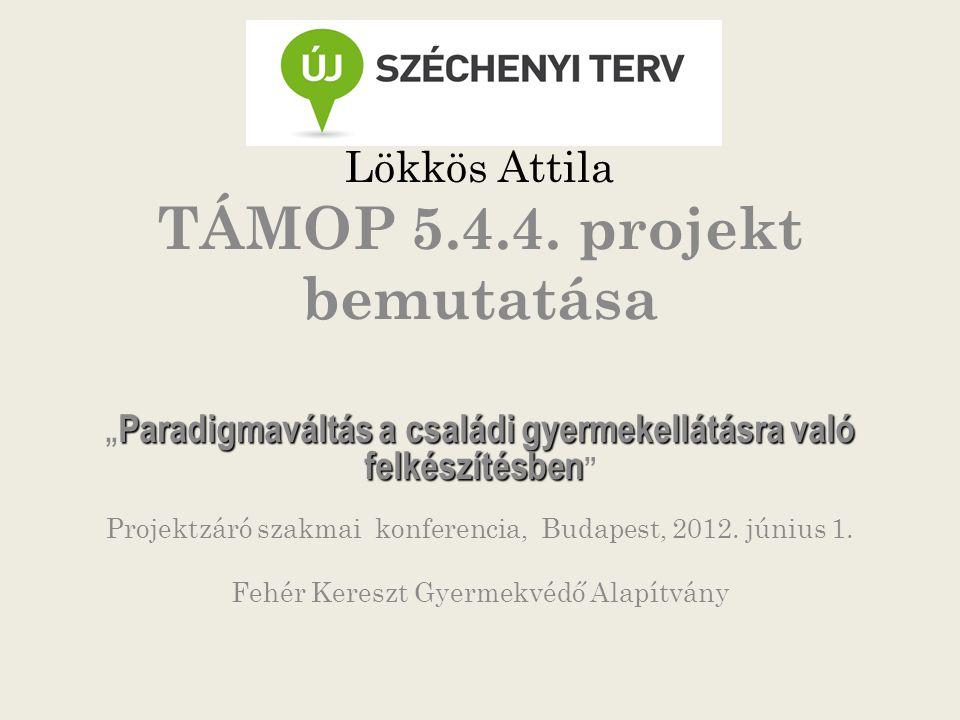 Lökkös Attila TÁMOP 5.4.4.