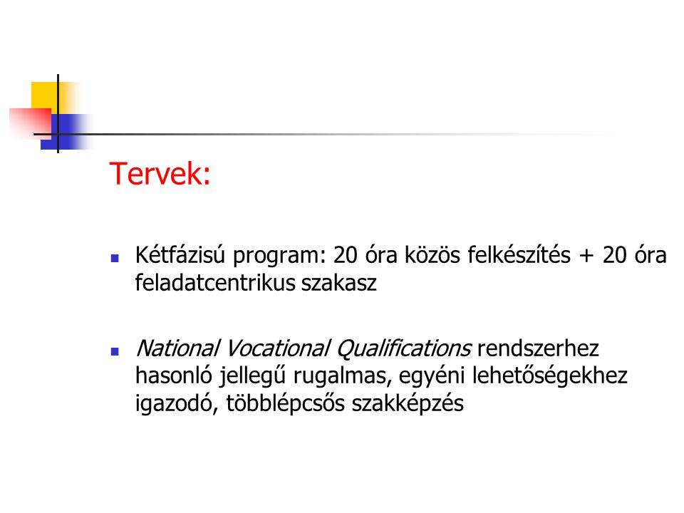 1999-ben: 40 órás egységes képzés 2000: Családi napközi – felkészítő tanfolyam központi programja 2003: 29./2003.