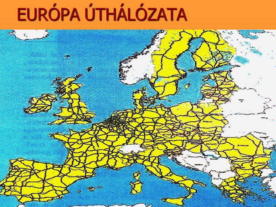 EURÓPA ÚTHÁLÓZATA