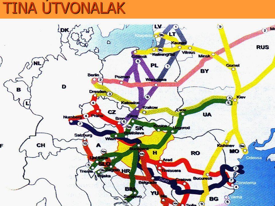 """MAGYARORSZÁGON ÁTHALADÓ """"TINA FOLYOSÓK IV.folyosó: (térkép) IV.folyosó: (térkép)térkép M1:Hegyeshalom-Győr-Budapest M1:Hegyeshalom-Győr-Budapest M15:Rajka-M1 autópálya között M15:Rajka-M1 autópálya között M0:Budapest elkerülése M0:Budapest elkerülése M5:Budapest-Kecskemét-Kiskunfélegyháza- M5:Budapest-Kecskemét-Kiskunfélegyháza- -Szeged -Szeged 43:Szeged-Nagylak 43:Szeged-Nagylak"""