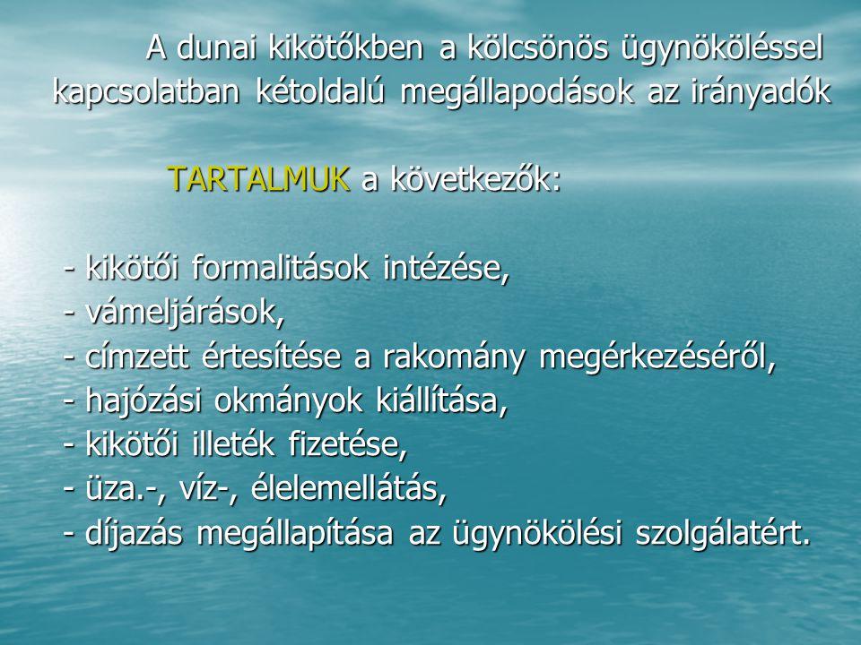 TENGERI ÁRUFUVAROZÁS ÉS SZÁLLÍTMÁNYOZÁS TÖRTÉNETI ÁTTEKINTÉS TÖRTÉNETI ÁTTEKINTÉS 1609.