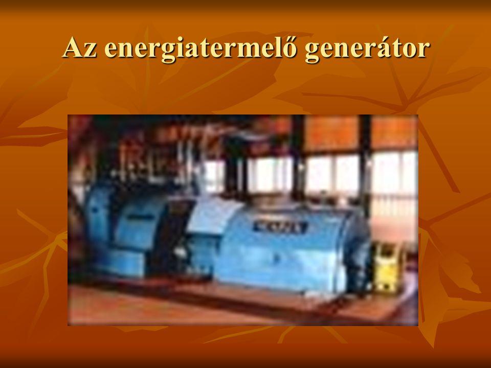 Az energiatermelő generátor