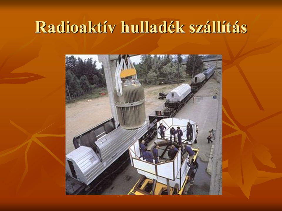 Radioaktív hulladék szállítás