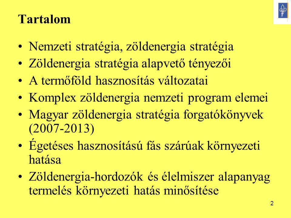13 Kistérségi/települési energia rendszer I.