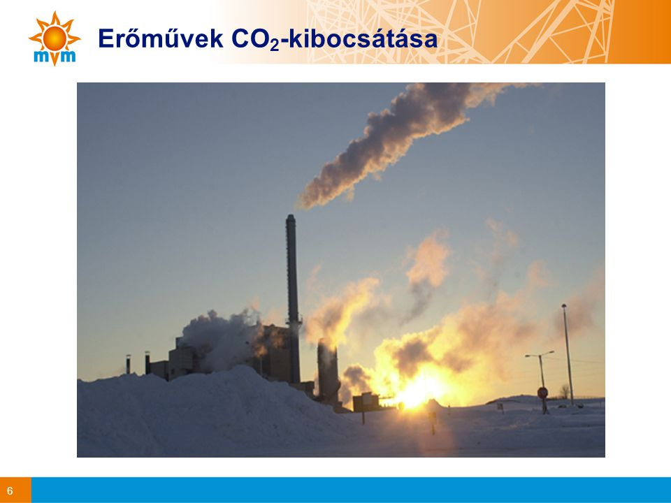 6 Erőművek CO 2 -kibocsátása