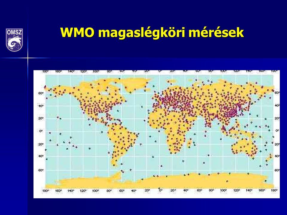 WMO magaslégköri mérések