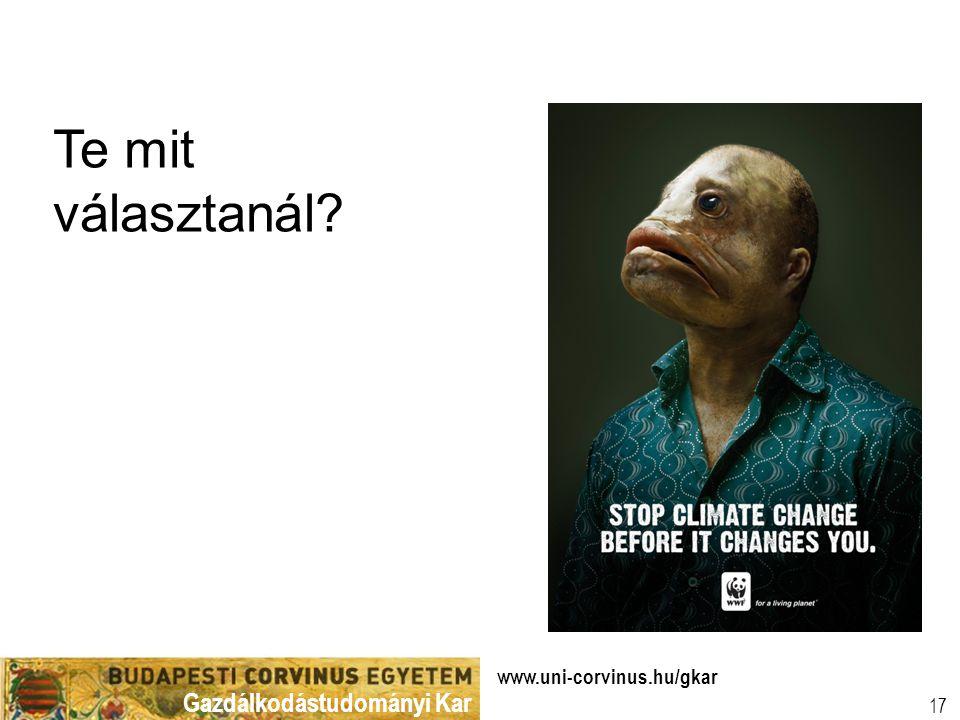 www.uni-corvinus.hu/gkar 17 Te mit választanál