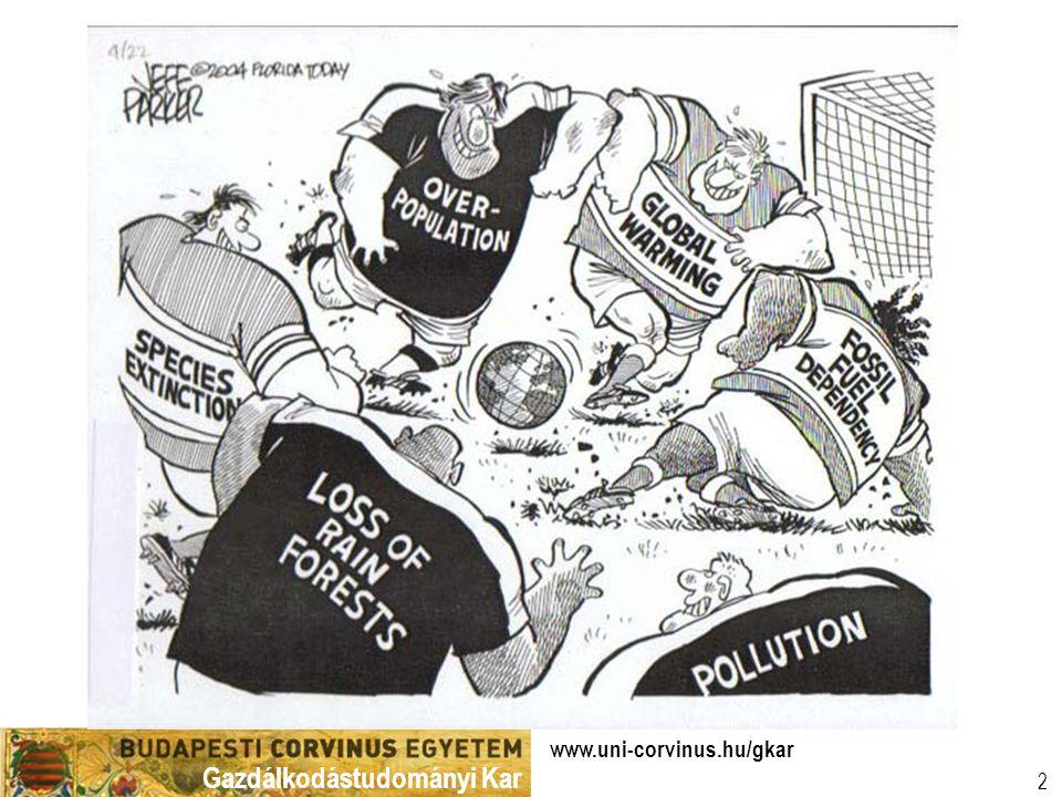 Gazdálkodástudományi Kar www.uni-corvinus.hu/gkar 3 …túl sok az elméletieskedés és kevés az aktuális kutatás mondják a közgazdasági Nobel díjasok  …túlságosan ideologizáló,  …túlságosan elméleti és matematizáló,  …túlságosan a Wall Street problémáira fókuszált ahelyett, hogy olyan nyomasztó globális kérdésekkel foglalkozna, mint az egyenlőtlenség, a szegénység és a környezet.